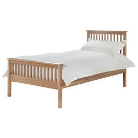 Silentnight Dakota Single Bed Frame - Natural