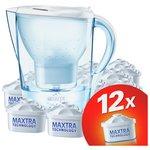 more details on BRITA Marella Water Filter Jug and 12 Cartridges - White