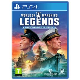 World of Warships: Legends Deluxe Edition PS4 Game