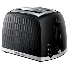 Russell Hobbs 26061 Honeycomb 2 Slice Toaster - Black
