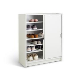 Argos Home Chloe Sliding Door Shoe Cabinet