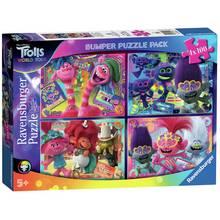 Trolls 4 x 100 Piece Puzzles