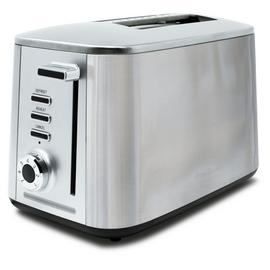 Drew & Cole Rapid 2 Slice Toaster - Chrome