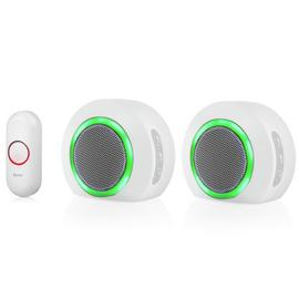 Byron DBY-23524 175m Wireless Twin Pack