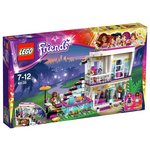 more details on LEGO Friends Livi's Pop Star House Playset.