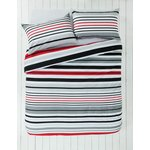 more details on ColourMatch Highlight Red Bedding Set - Single.