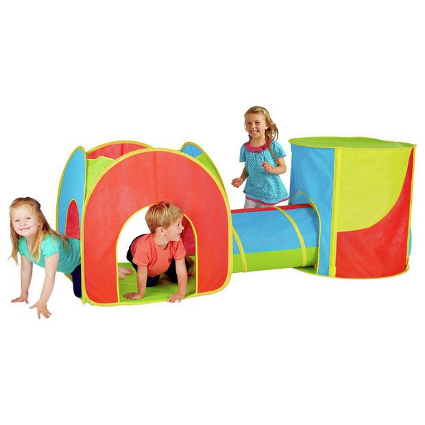 new style cb4c7 a65e9 Buy Chad Valley Combo 3-in-1 Play Tent | Play tents | Argos