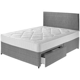 Argos Home Elmdon Comfort Divan Bed - Small Double.