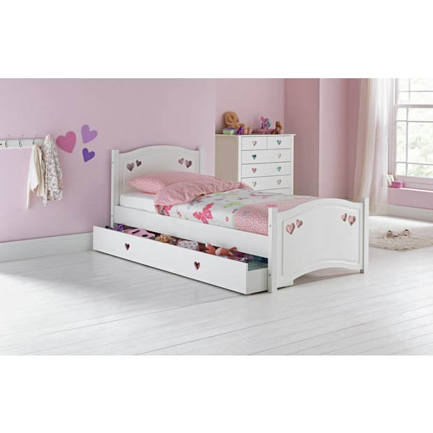 Buy Collection Mia Bed With Elliott Mattress White At