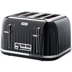 more details on Breville VTT476 Impressions 4 Slice Toaster - Black.