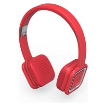 Ministry of Sound Audio On Plus W/less Headphones - Red/Grey