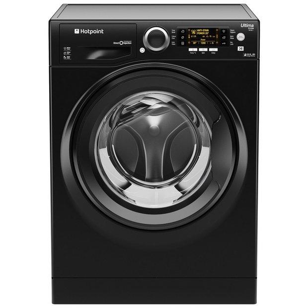 buy hotpoint rpd10457jkk 10kg 1400 spin washing machine. Black Bedroom Furniture Sets. Home Design Ideas