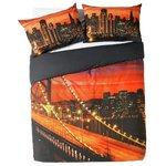 more details on HOME Oakland Bay Bridge Bedding Set - Double.