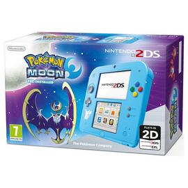 Nintendo 2DS Special Edition Console with Pokemon Moon