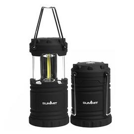 Summit 9W Micro Collapsible COB LED Camping Lantern Set