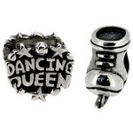 more details on Miss Glitter S.Silver Kids Dancing Queen and Boot Charms.