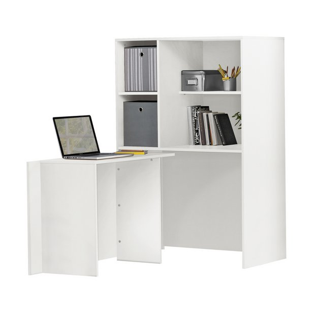 Buy Home Calgary Hideaway Corner Desk White At Your Online Shop For Desks And