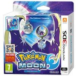 more details on Pokemon Moon 3DS Game and Steel Case.