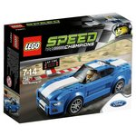 more details on LEGO Speed Champions Ford Mustang GT Playset - 75871.