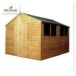 Mercia Shiplap Apex Wooden Garden Shed - 10 x 8ft.