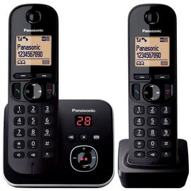 Panasonic KXTG6802 Cordless Telephone with Answer M/c - Twin