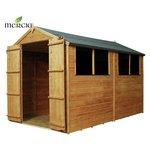 Mercia Shiplap Apex Wooden Garden Shed - 10 x 6ft.