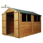 more details on Mercia Shiplap Apex Wooden Garden Shed - 10 x 6ft.