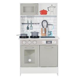 Teamson Kids Little Chef Play Kitchen - Grey