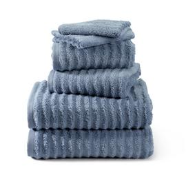Argos Home Ribbed 6 Piece Towel Bale