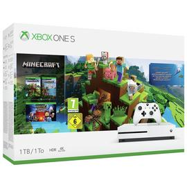 Xbox One S 1TB Console & Minecraft Bundle