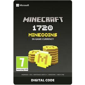 Microsoft Minecraft 1720 Minecoins Digital Download