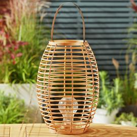 Sahara Wicker Effect Large Lantern