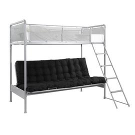 Argos Home Maddox Grey Futon Bunk Bed Frame
