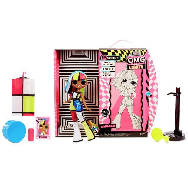 O.M.G L.O.L Lights Groovy Babe Fashion Doll with 15 Surprises Surprise