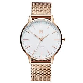 MVMT Ladies Boulevard Gold Plated Mesh Strap Watch
