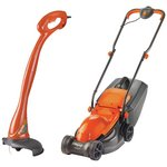 more details on Flymo Corded Lawnmower 1000W and Grass Trimmer 230W.