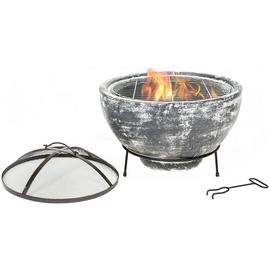 La Hacienda Slate Effect Large Firepit