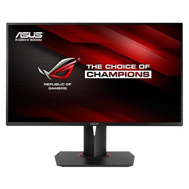 buy asus pg278q 27 inch wide led gaming monitor at argos. Black Bedroom Furniture Sets. Home Design Ideas