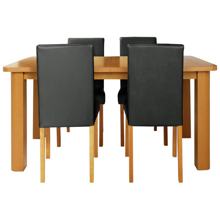 Buy HOME Heyford Extendable Dining Table and 4 Chairs  : 4591436RSETMain768ampw620amph620 from www.argos.co.uk size 620 x 620 jpeg 30kB