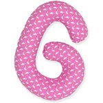 more details on Kit for Kids Cuddle Me Pregnancy Pillow - Pink Flamingo.