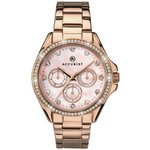 more details on Accurist Ladies' Pink Dial Rose Gold Plated Bracelet Watch.