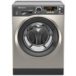 more details on Hotpoint RPD9467JGG 9KG 1400 Spin Washing Machine - Graphite