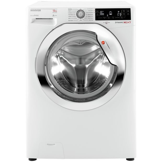 buy hoover dxp412aiw3 12kg 1400 spin washing machine. Black Bedroom Furniture Sets. Home Design Ideas