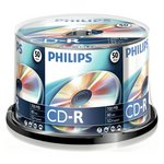 more details on Philips CD-R Pack of 50 on a Spindle.