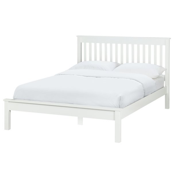 buy collection aspley double bed frame white at argoscouk your online shop for bed frames beds bedroom furniture home and garden