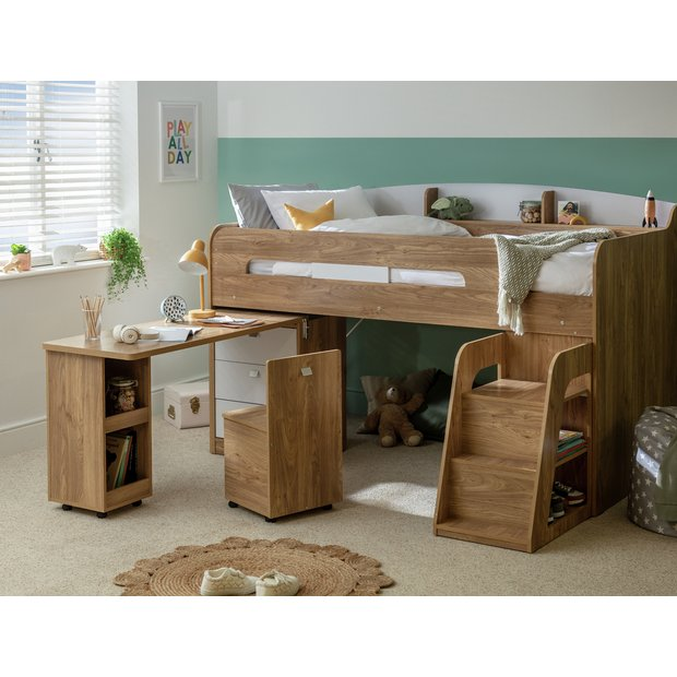 Buy Collection Ultimate Storage Mid Sleeper With Mattress