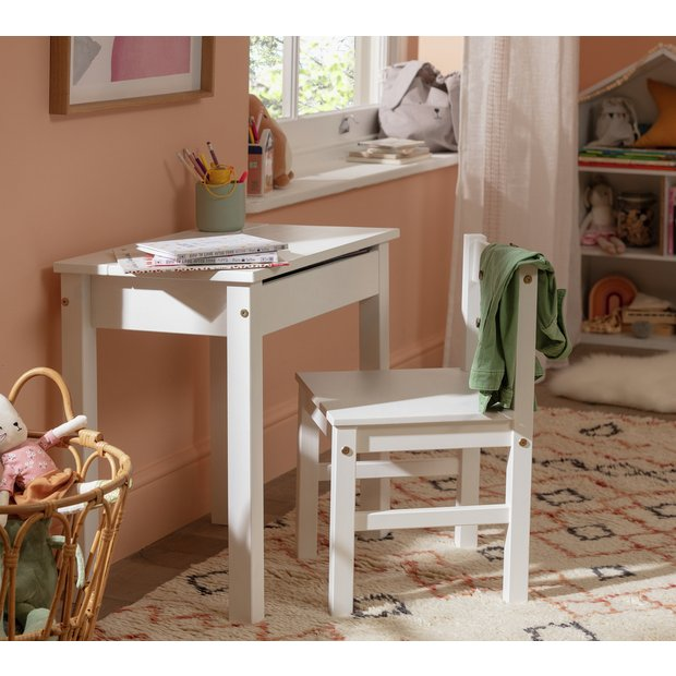 Fabulous Buy Argos Home Scandinavia White Desk Chair Kids Desks Argos Short Links Chair Design For Home Short Linksinfo