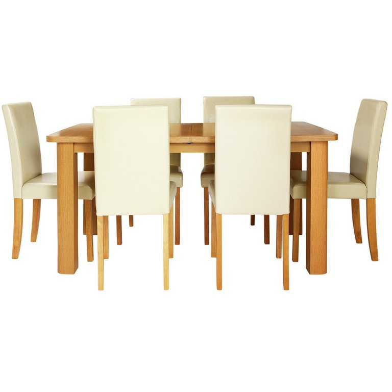Buy HOME Heyford Extendable Dining Table and 6 Chairs  : 4598398RSETMain768ampw620amph620 from www.argos.co.uk size 620 x 620 jpeg 25kB