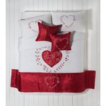 more details on HOME Hearts Bed in a Bag Bundle - Double.