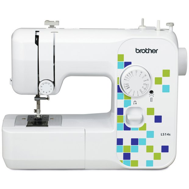 buy brother ls14 manual stitch sewing machine white at. Black Bedroom Furniture Sets. Home Design Ideas